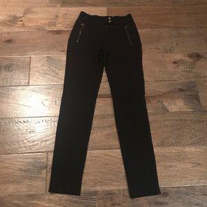 Comfy slim front seamed pants